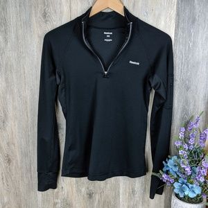 Reebok Black Active Wear Pullover Sweatshirt XS